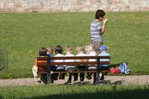 マカオの幼稚園に通う
